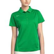 Ladies Dri FIT Sport Swoosh Pique Polo